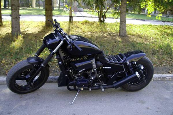 Тюнинг мотоциклов своими руками фото