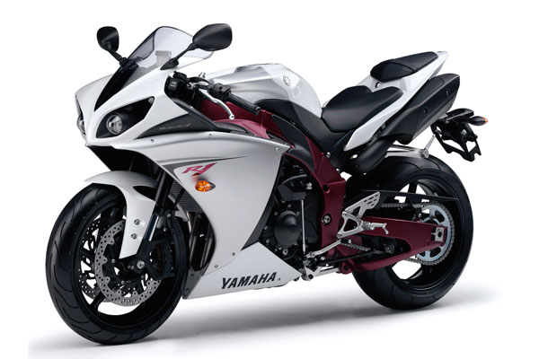 Yamaha YZF-R1 фото белый