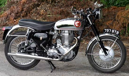 Мотоцикл BSA