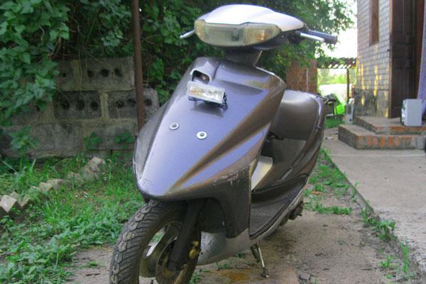 Слабый свет на скутере что делать