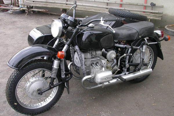 Мотоцикл днепр фото-1