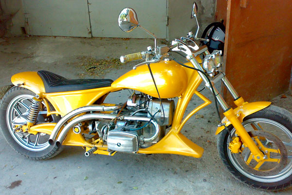 Фото тюнинг мотоцикл Днепр