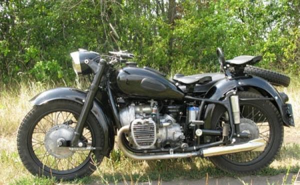 Как закрепить глушитель мотоцикла «днепр»