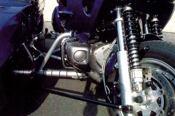 Мотоцикл с коляской EML Honda 1800/GT Twin (фото-2)