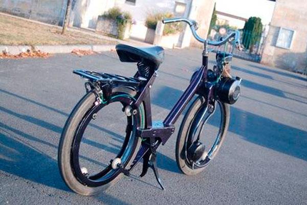 Сделать мопед из велосипеда в домашних условиях 213