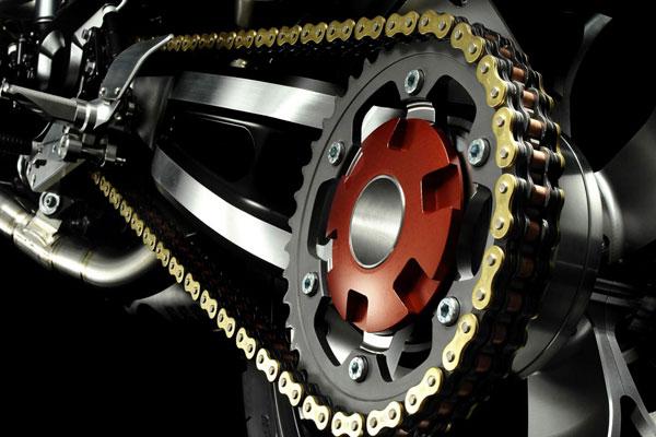 Привод мотоцикла цепь