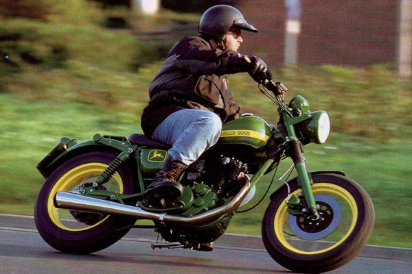 Тюнинг Yamaha SR 700 John Deere от Miles-Motors часть - 2 ...