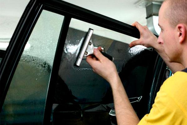 Тонировка стекол своими руками (фото-3)