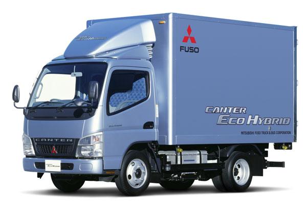 Самый чистый в мире грузовик Mitsubishi Canter Eco Hybrid (фото-2)