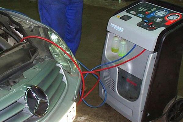 Автомобильный кондиционер ремонт