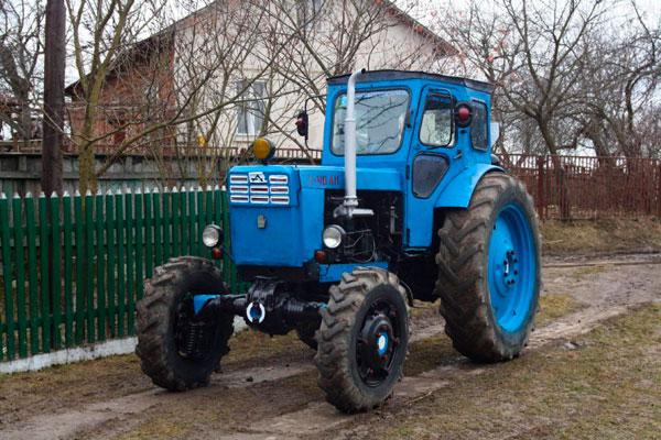 Трактор Т-40 (фото-4)