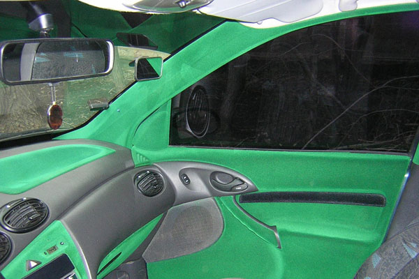 Тюнинг салона автомобиля (фото-6)