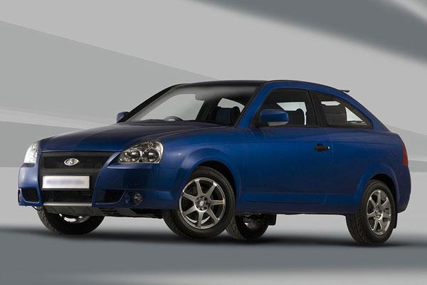 Lada Priora Coupe фото-3