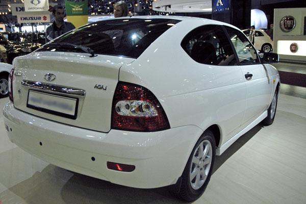 Lada Priora Coupe фото