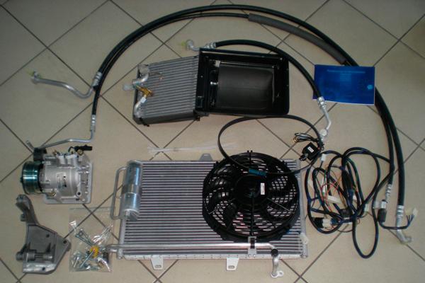Установка кондиционера на ВАЗ 2114 (фото-2)