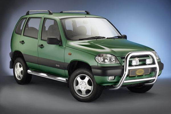 Обновленный Chevrolet Niva
