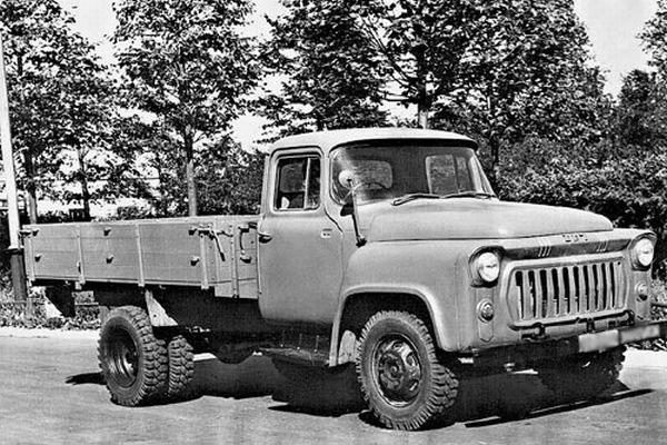 Создание грузовика ГАЗ-56 более новой модификации