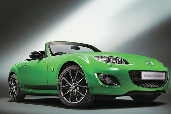 Mazda MX-5 получит мощную модификацию фото