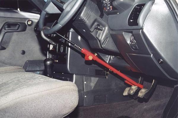 Механические противоугонные устройства для автомобиля фото