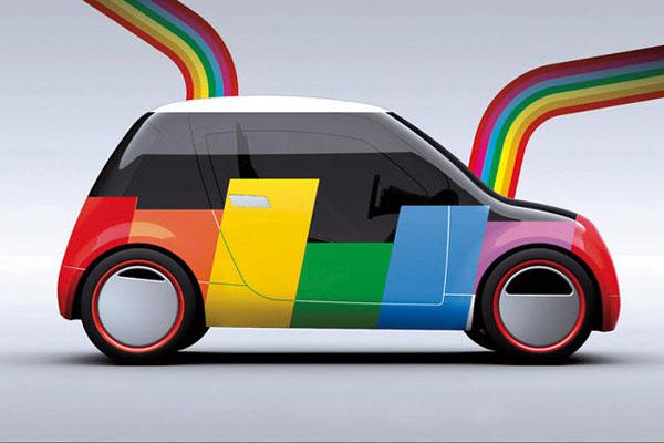 Подбор цвета на авто