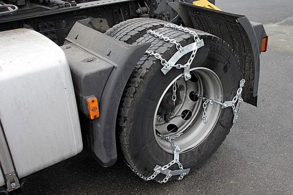 Цепи противоскольжения на колеса для грузовиков