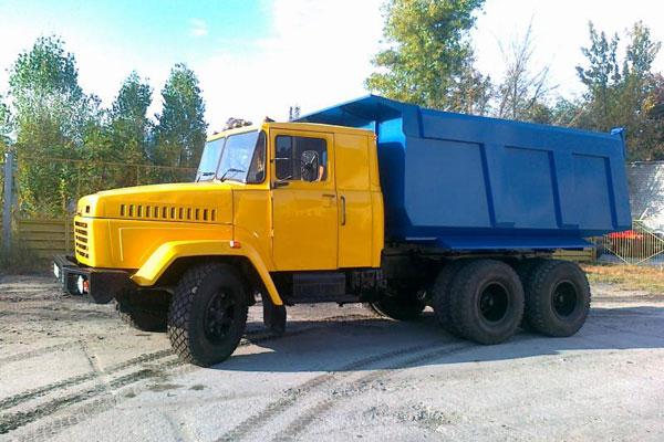 КРАЗ-65101 с кузовом