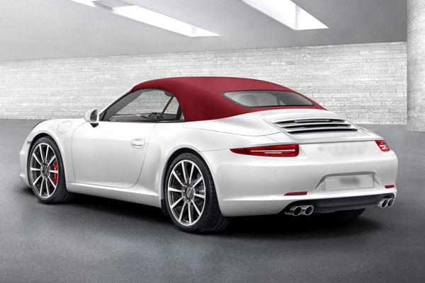 Porsche 911 cabriolet фото