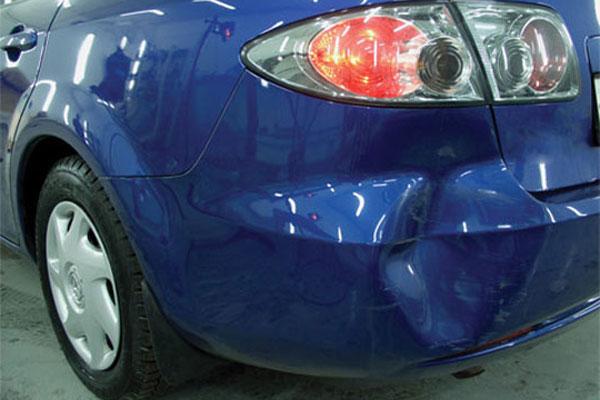 Ремонт бампера автомобиля