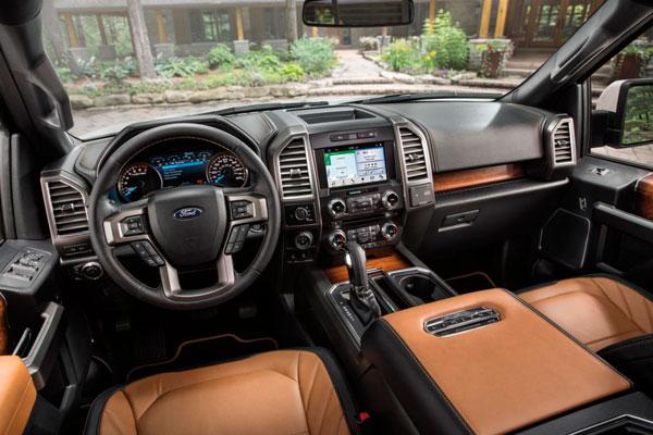 Ford F-150 салон