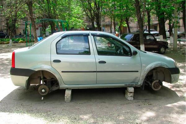 Как защитить колеса?