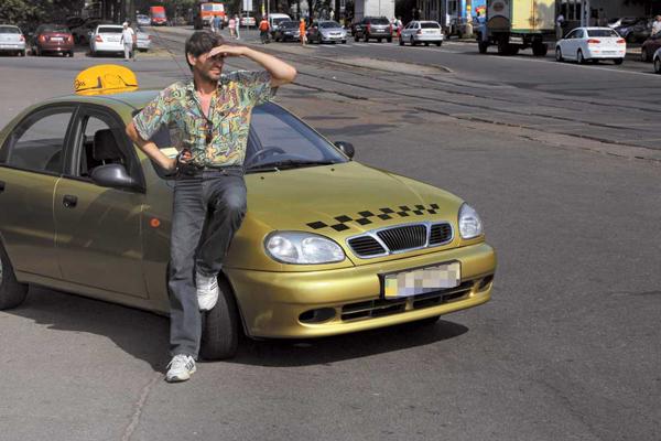 Работа в такси