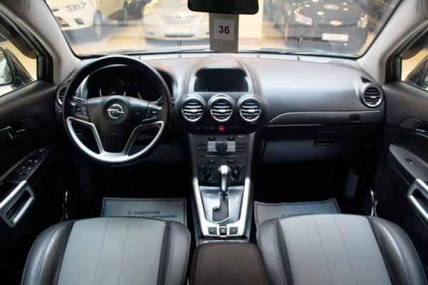 Opel Antara 2013 фото салона