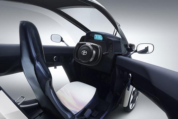 Toyota i-Road фото