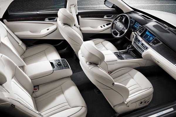 Hyundai Genesis 2014 фото салона