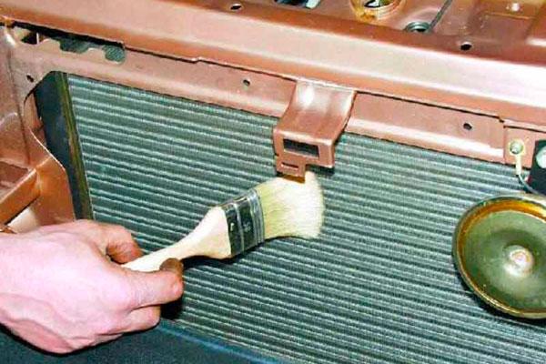 Как прочистить радиатор (фото-2)