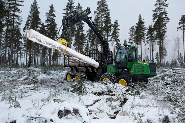 Производство лесозаготовительной техники