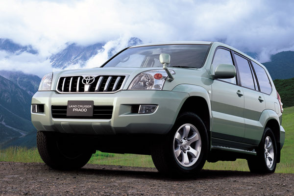 Toyota Land Cruiser Prado 150 2014