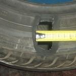 Вулканизация боковых порезов шин