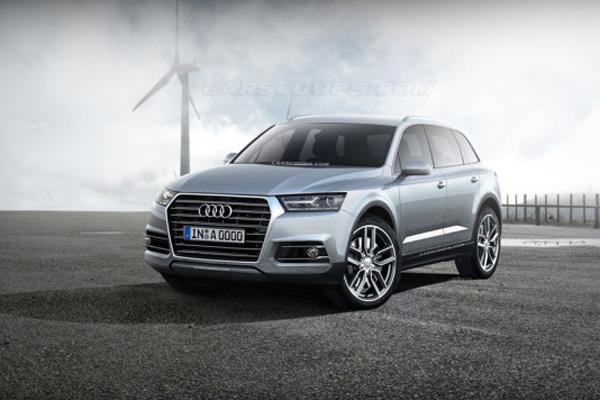 Audi внедорожник Q7