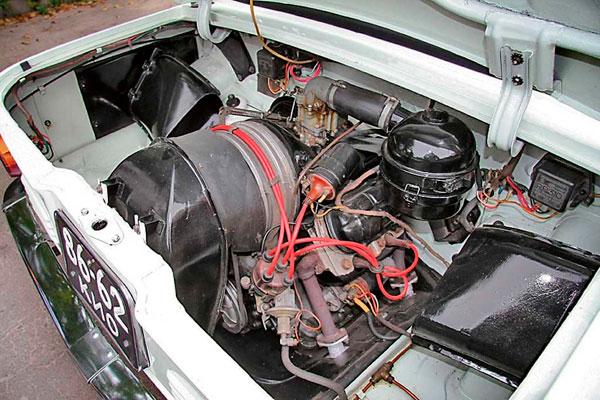 ЗАЗ Запорожец двигатель фото