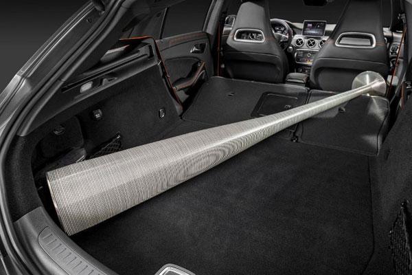 Mercedes-Benz маленький универсал, фото багажника