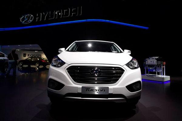 Hyundai Tucson 2015 на выставке
