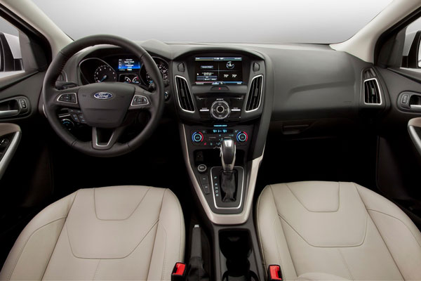 Ford Focus III седан фото салон