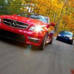 BMW и Mercedes AMG