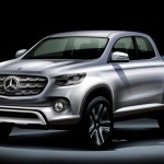 Представит pick-up Mercedes-Benz