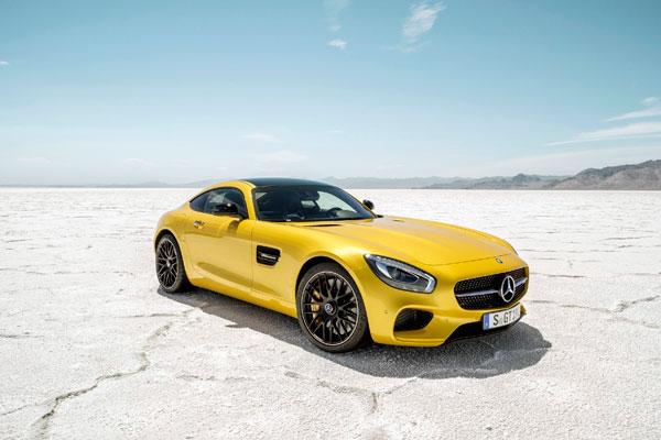 Mercedes-AMG GT фото