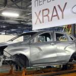 Кузов кроссовера Lada Xray