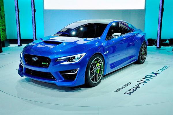 новинка Subaru STI