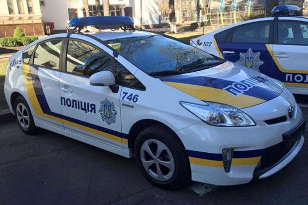 В Украине полицейские патрули будут распознавать угнанные автомобили