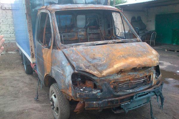 Восстановление автомобиля после пожара